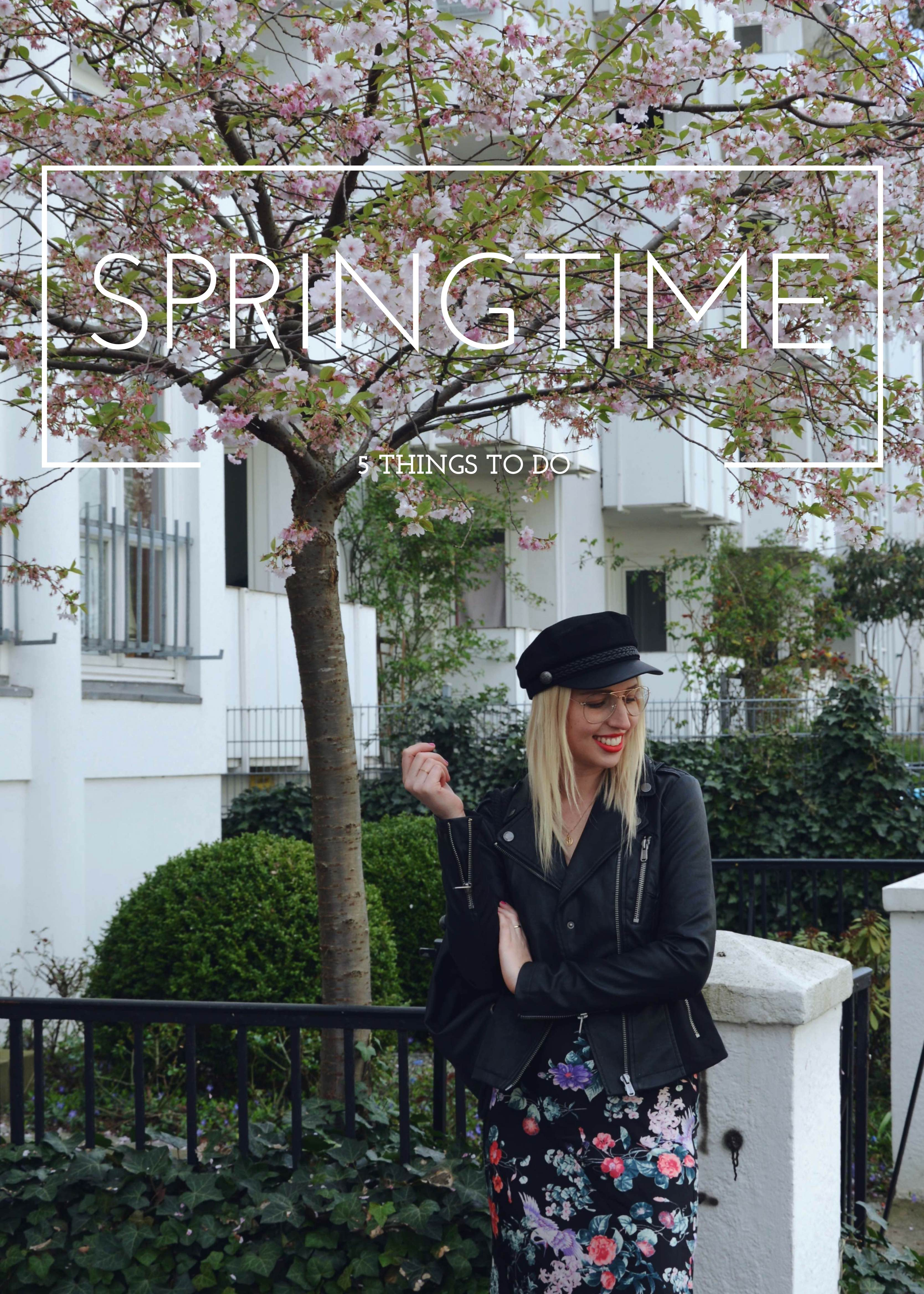 5 things to do in spring